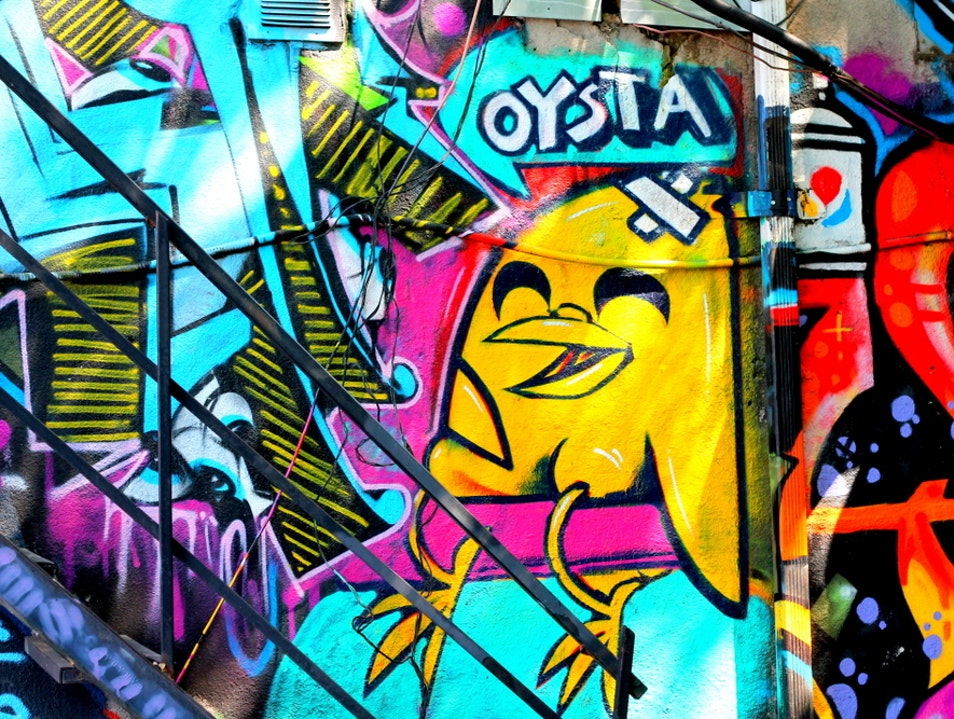Take a Walk Down Toronto's Graffiti Alley Toronto  Canada
