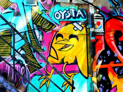 Graffiti Alley Toronto  Canada