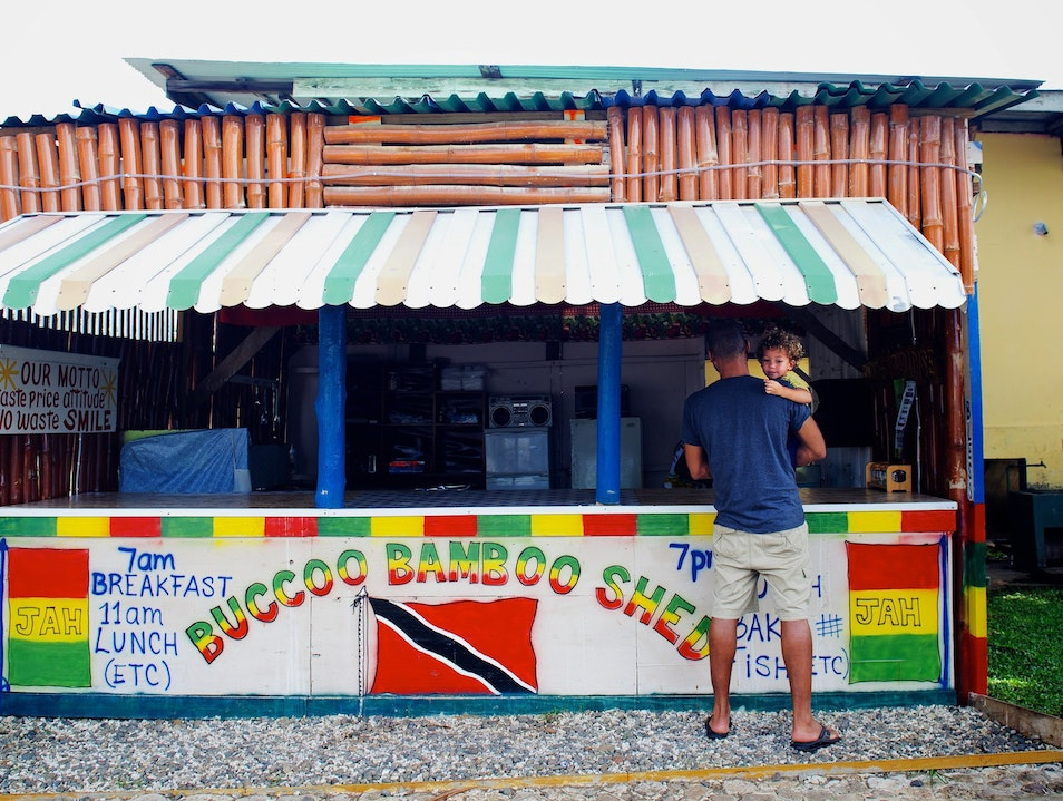 Authentic Local Eats from a Shed in the Shade Western Tobago  Trinidad and Tobago