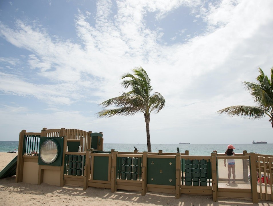 Pick a Favorite Beach Entrance Fort Lauderdale Florida United States