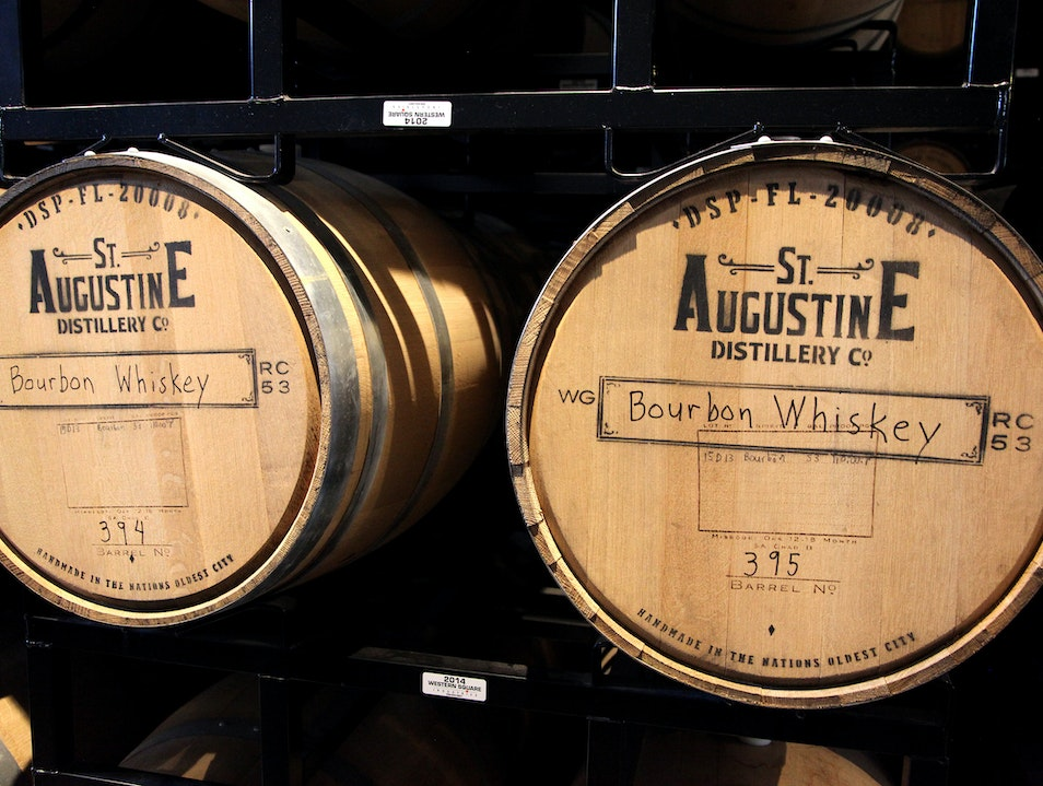 St. Augustine Distillery Tour & Cocktails at Ice Plant Bar St. Augustine Florida United States
