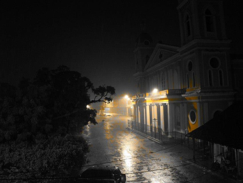 Rainy Night on Parque Central