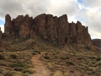 Lost Dutchman State Park Apache Junction Arizona United States