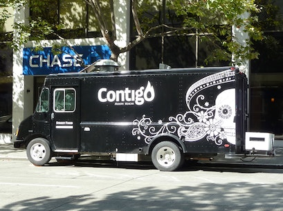 Contigo Food Truck Seattle Washington United States