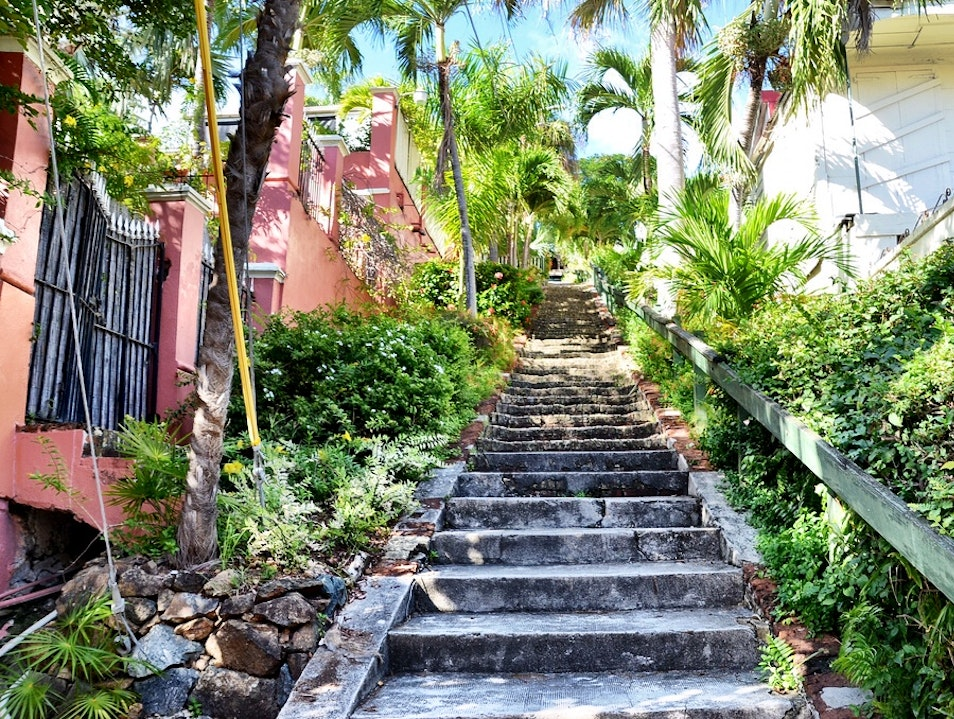 99 Steps to BlackBeard's Castle Charlotte Amalie  United States Virgin Islands