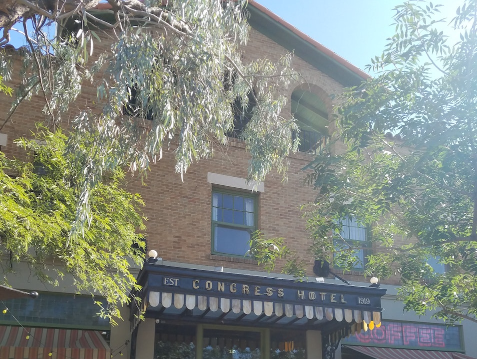 A historic hotel with character in downtown Tucson Tucson Arizona United States