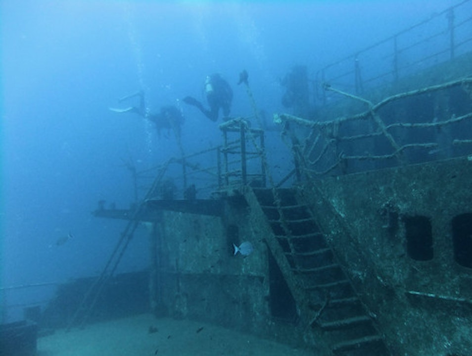 Scuba Diving Site: Um El Faroud