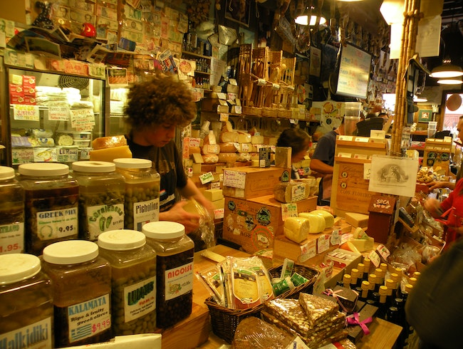 All the cheese you could want in Carmel, California