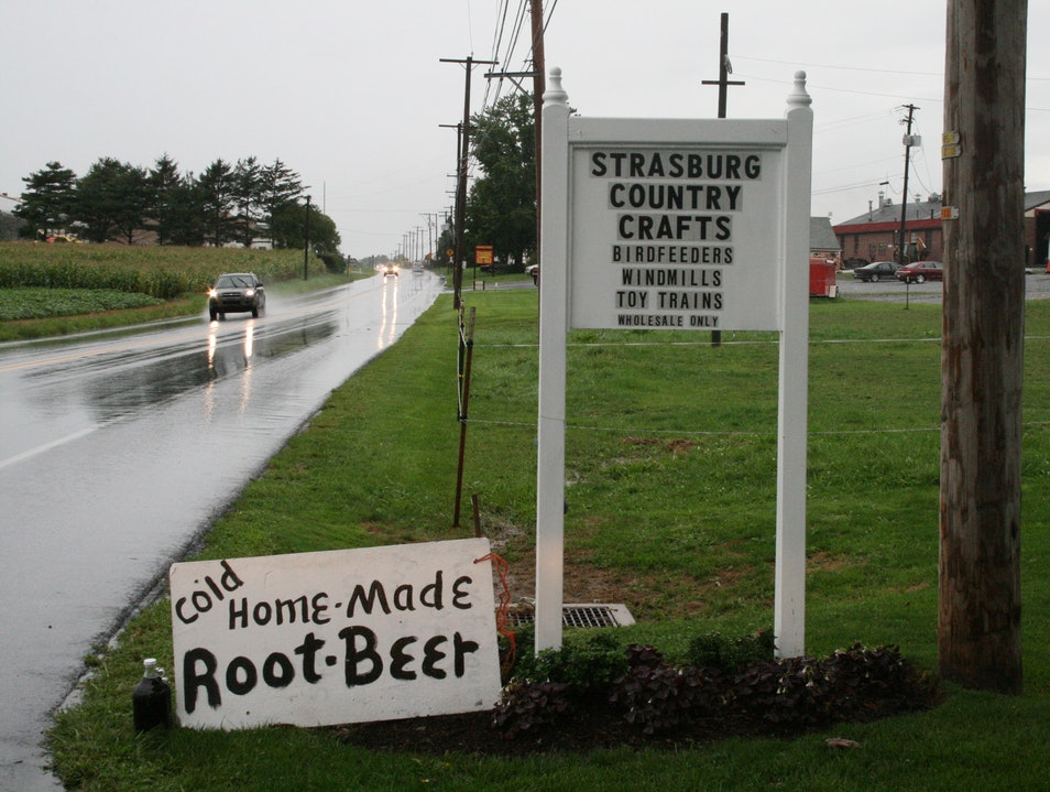 Homemade Root Beer Strasburg Pennsylvania United States