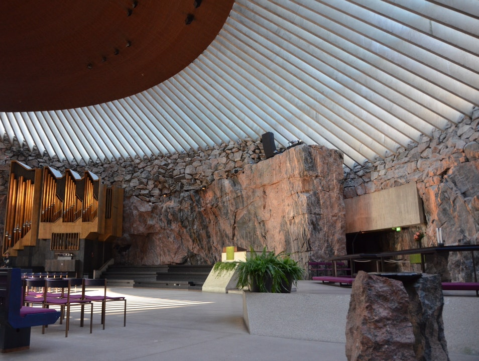 A Rock Church For The Modern Age Helsinki  Finland