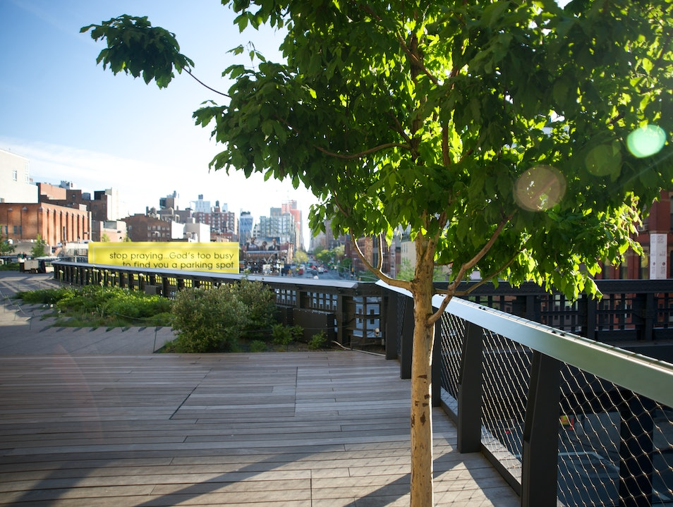 Celebrating Morning on the High Line New York New York United States