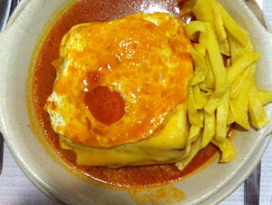 The best Francesinha in town Porto  Portugal