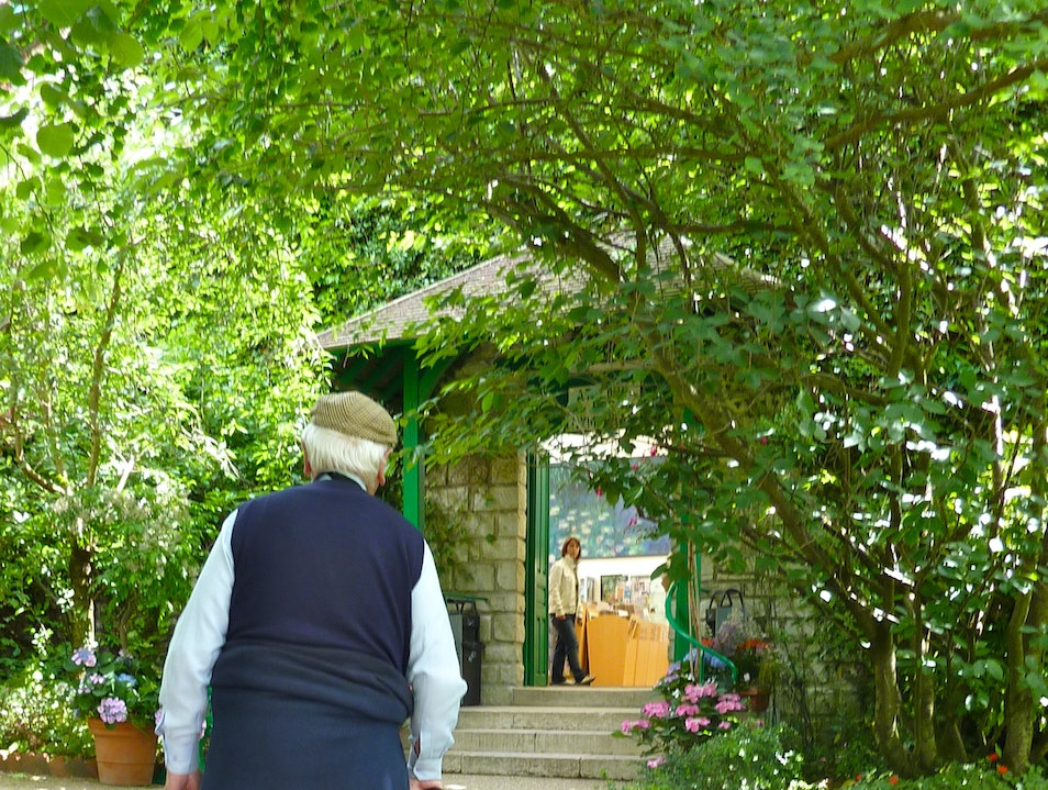 Leaving Monet's Gardens- Giverny Giverny  France