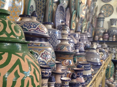 Tamegroute Pottery Cooperative Fes  Morocco