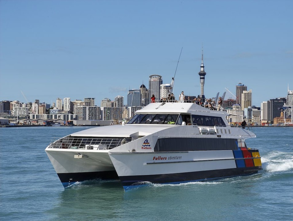 Cruise the Harbour Auckland  New Zealand