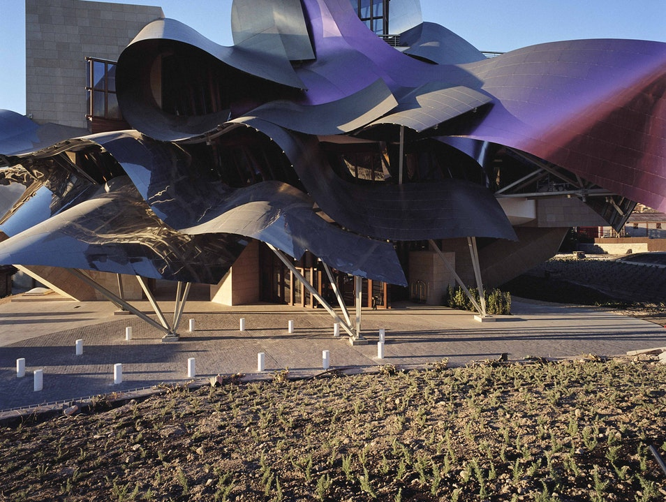 Frank Gehry for Wine, El Ciego Elciego  Spain