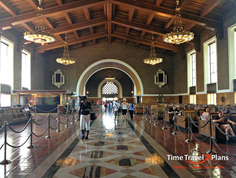 Exploring L.A.'s Metro Art Scene at Union Station Los Angeles California United States