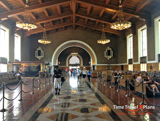 Exploring L.A.'s Metro Art Scene at Union Station