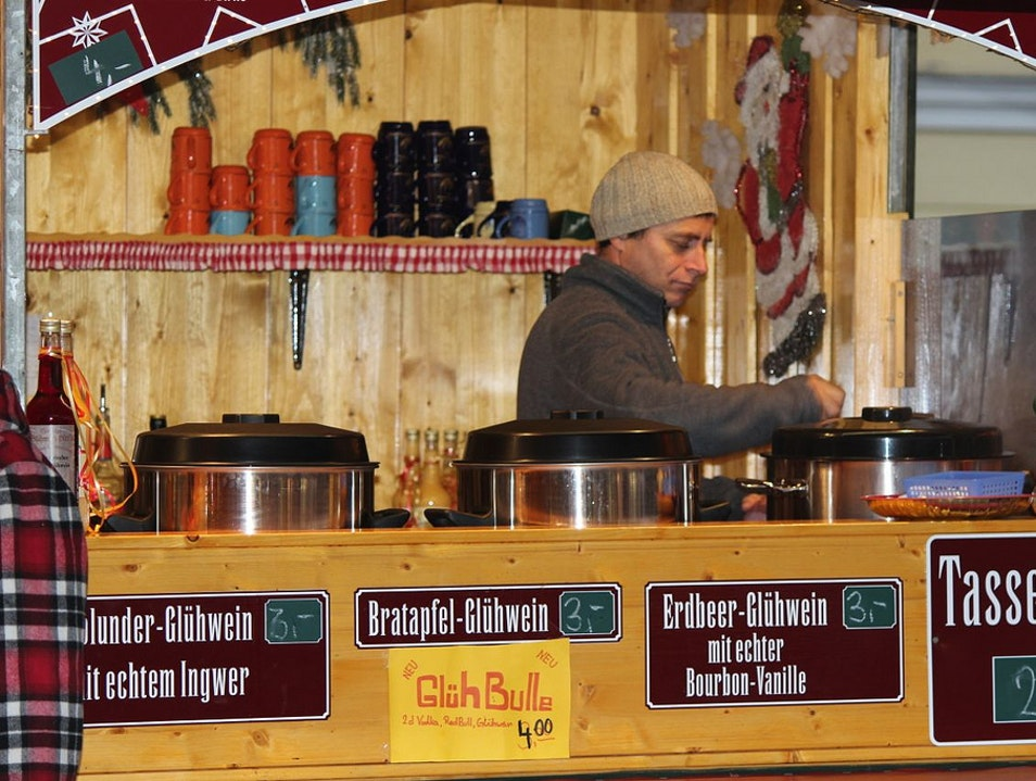 Gluhwein Passau  Germany