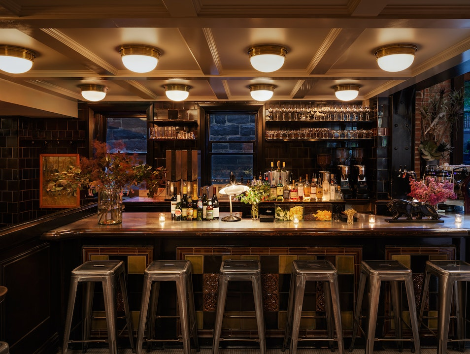 A Secret Bar in Chelsea New York New York United States