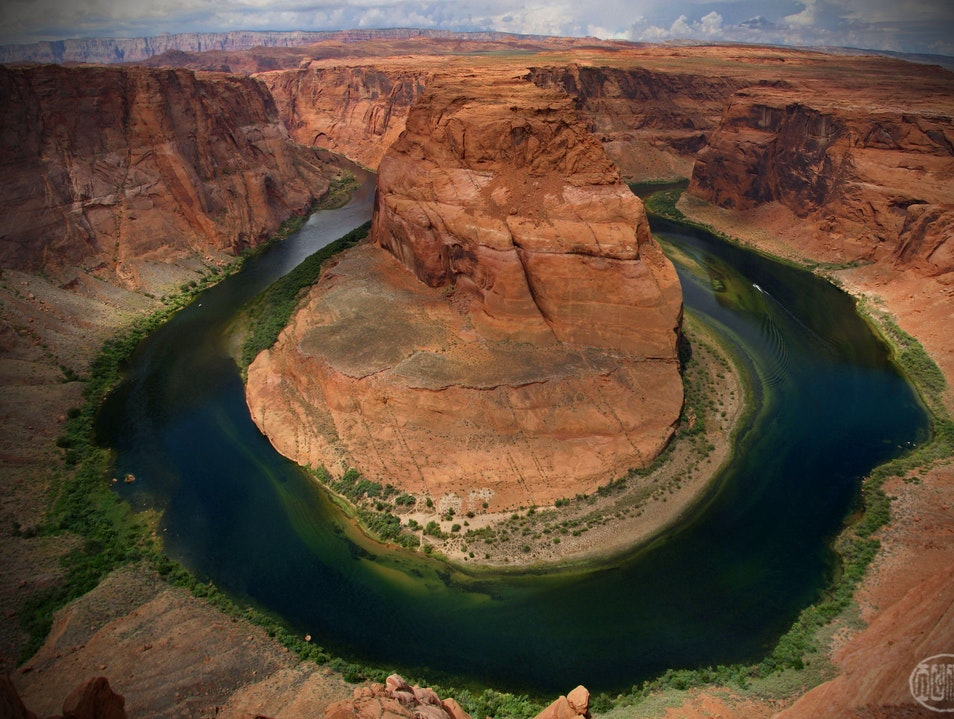 King of the World at the Bend in the River Page Arizona United States