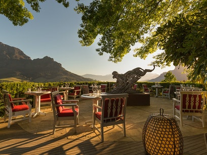 Delaire Graff Estate   South Africa
