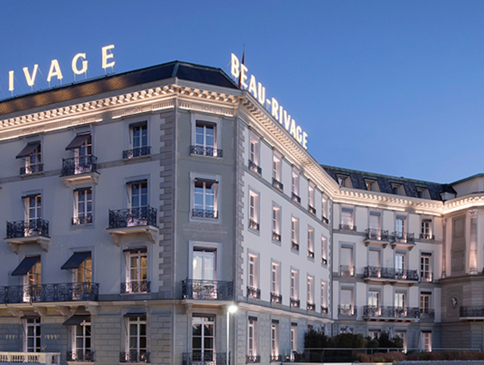 150 Years Perfecting Hospitality Genève  Switzerland