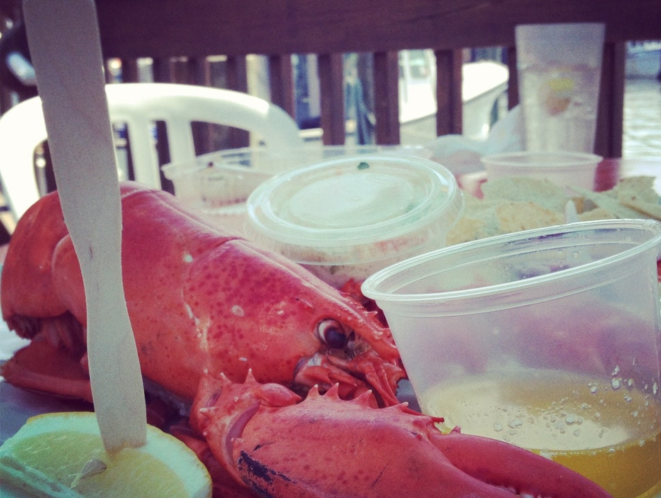 Lobster at the Shore