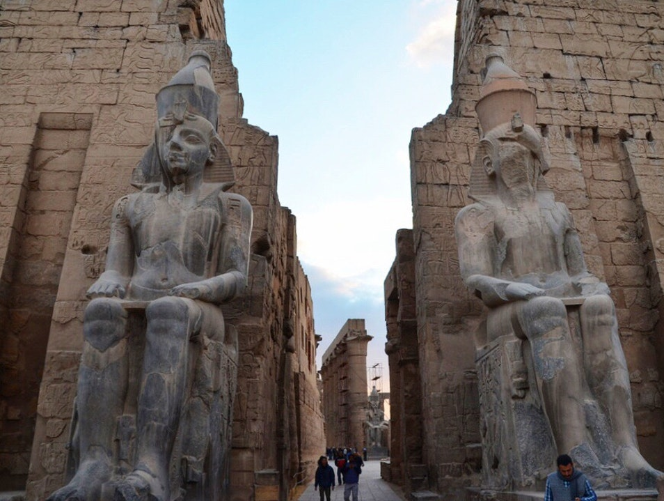 Step Back In Time At The Mighty Temples of Luxor Luxor  Egypt