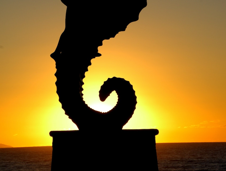 See Seaside Sculptures in Puerto Vallarta