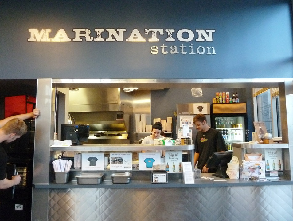 Get Saucy at Marination Station