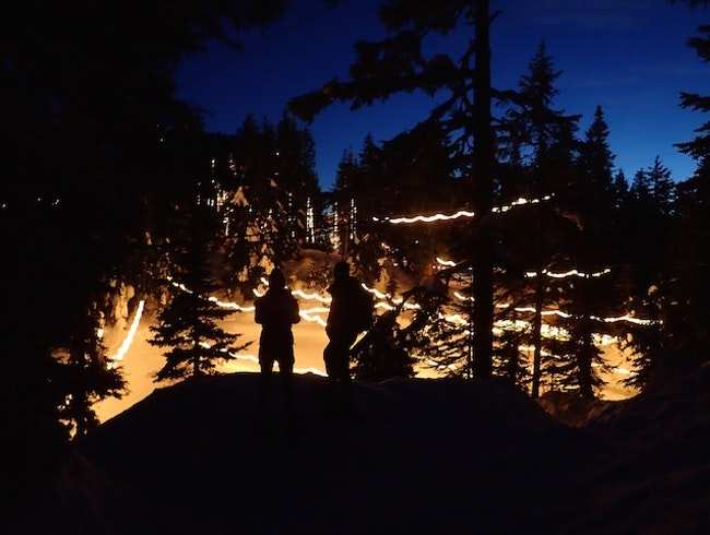 Twinkling Lights and Snow Shoes