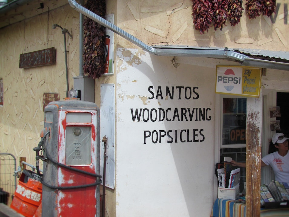 """""""Santos...woodcarving...popsicles"""" and CHILE"""