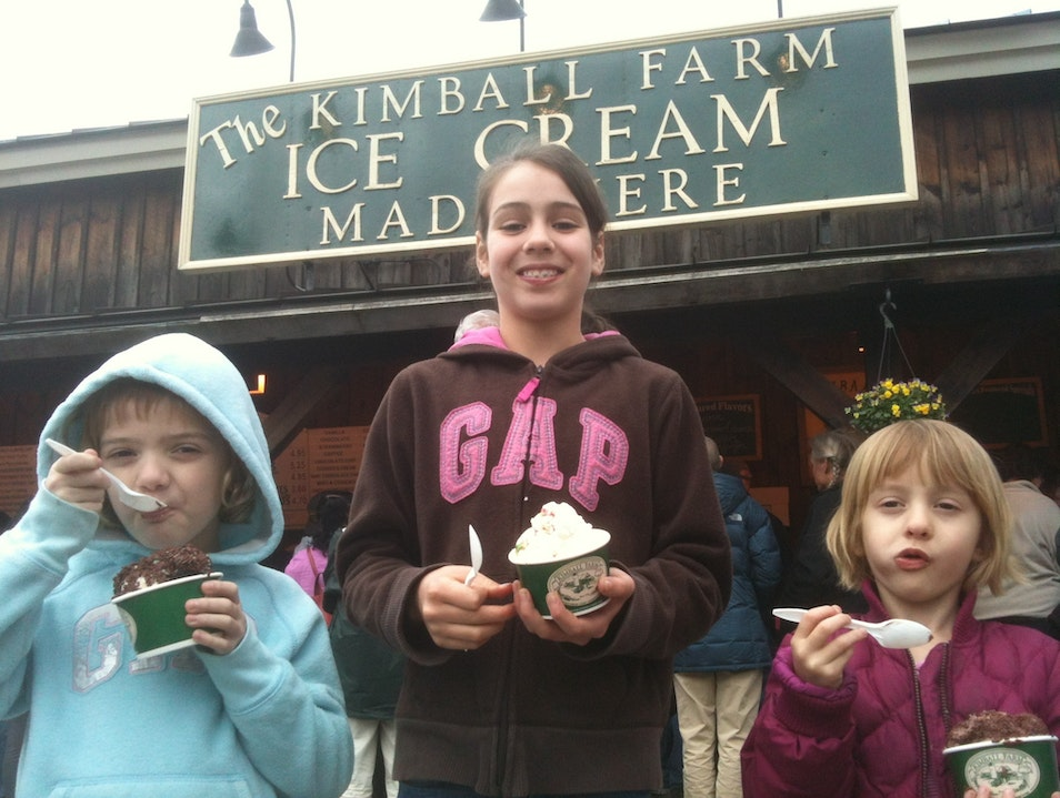 Kimball Farm's Ice Cream Delights Westford Massachusetts United States