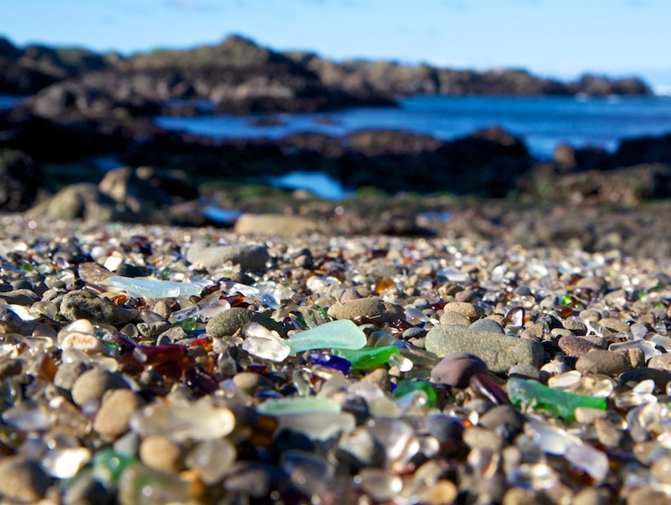 Turning Trash into Tourism at Glass Beach Fort Bragg California United States