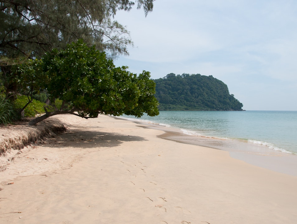 Lazing on Lazy Beach, Cambodia Sihanoukville  Cambodia