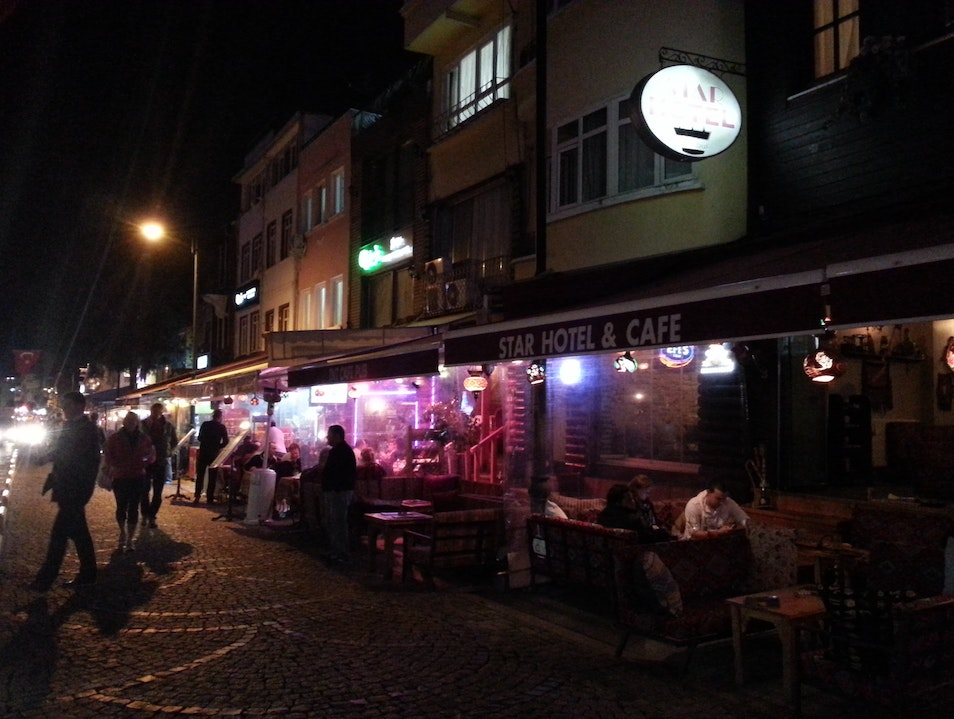 Laid-Back Late Nights in Sultanahmet Istanbul  Turkey