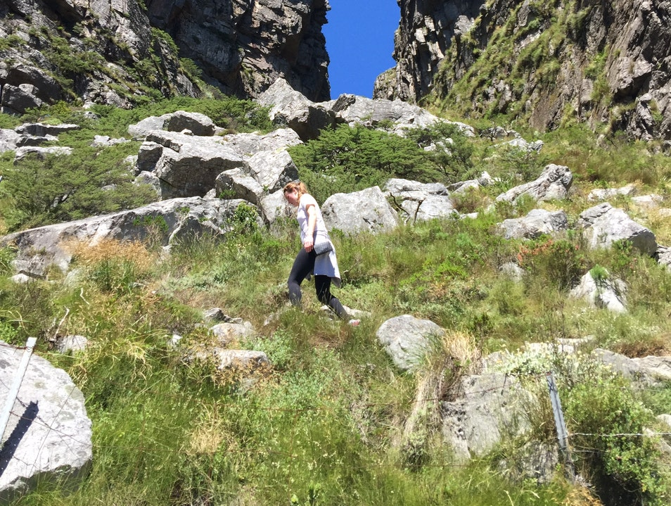Hike Table Mounntain Cape Town  South Africa