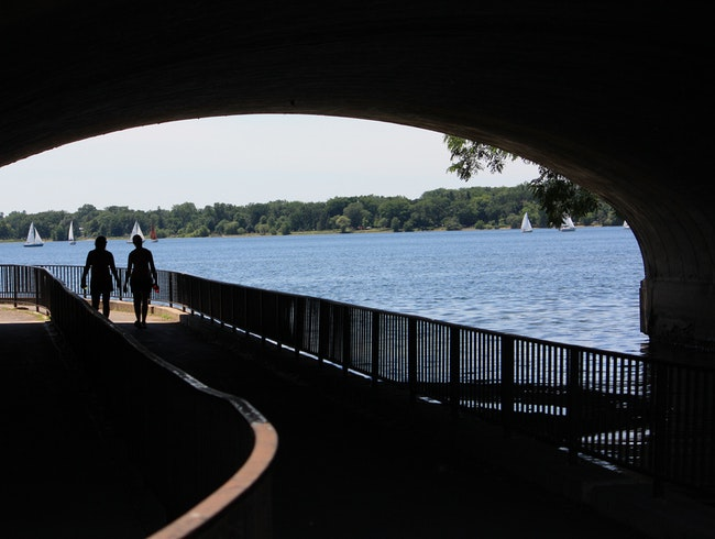 Wind Down or Up at Lake Calhoun