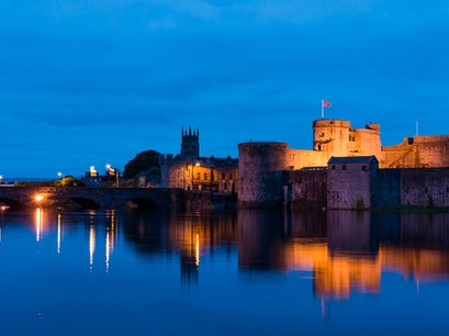 King John's Castle Limerick  Ireland