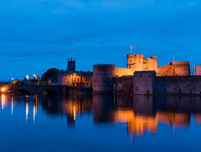 King John's Castle, Limerick, Munster, Ireland.