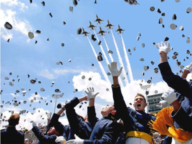 Saw my best friend graduate from the Air Force Academy!
