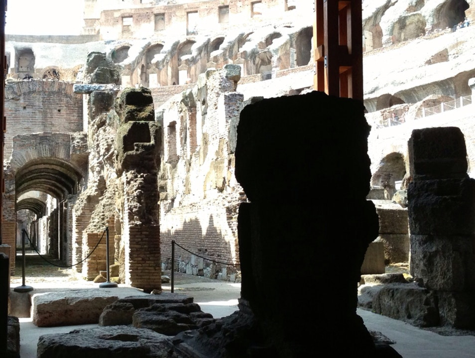 Hypogeum Tour At The Colosseum In Rome  Rome  Italy