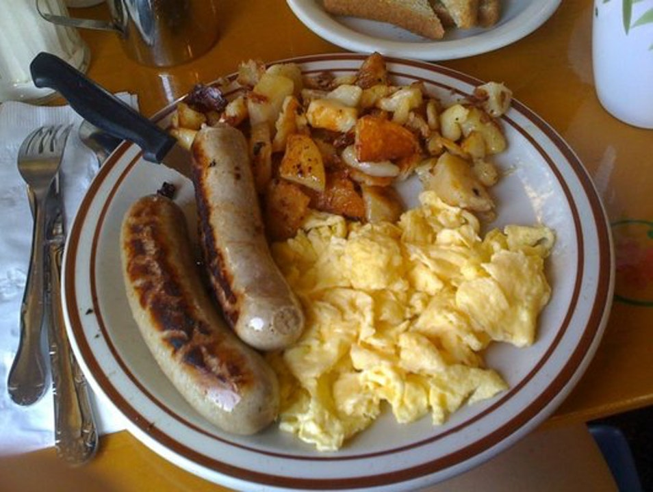 Bratwurst for Breakfast