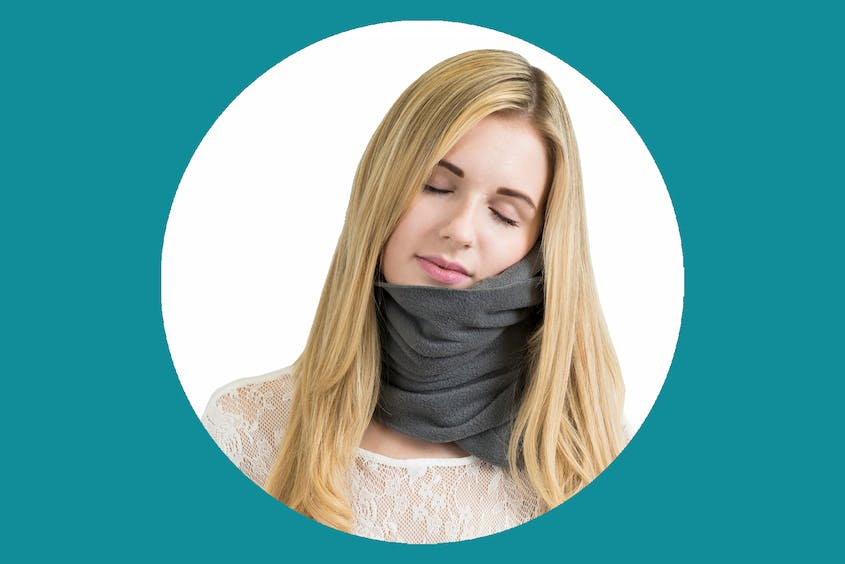 The Trtl Travel Pillow has many fans at AFAR for its packability.