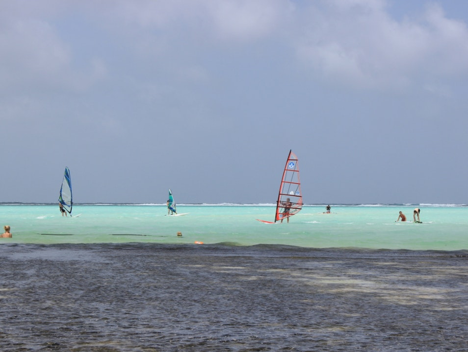 Learn to Windsurf at the Best Windsurfing Spot in the World Kralendijk  Caribbean Netherlands