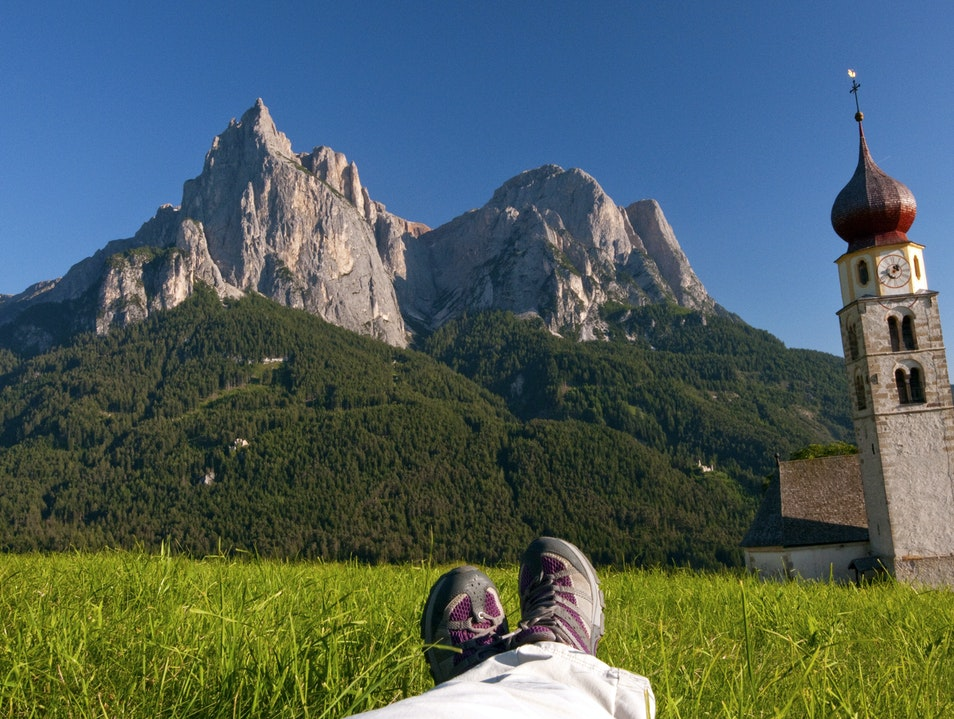 The Life in the Dolomites - Italy Seis Am Schlern  Italy
