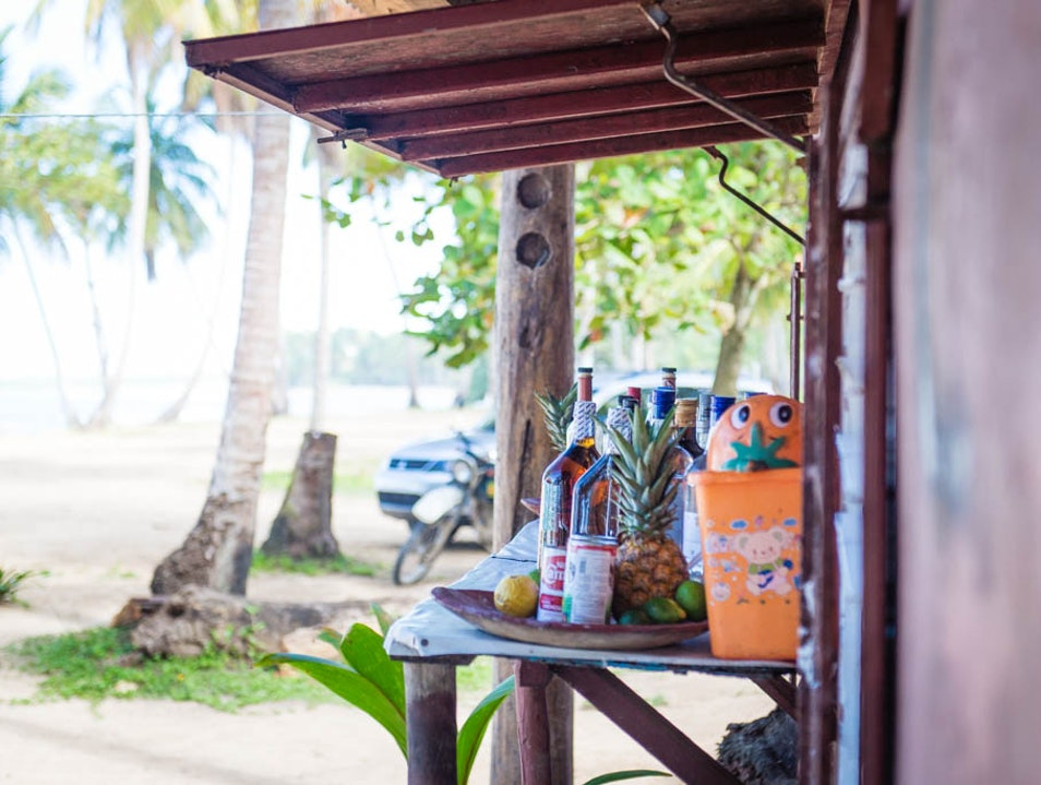 Craving: Seafood on the beach