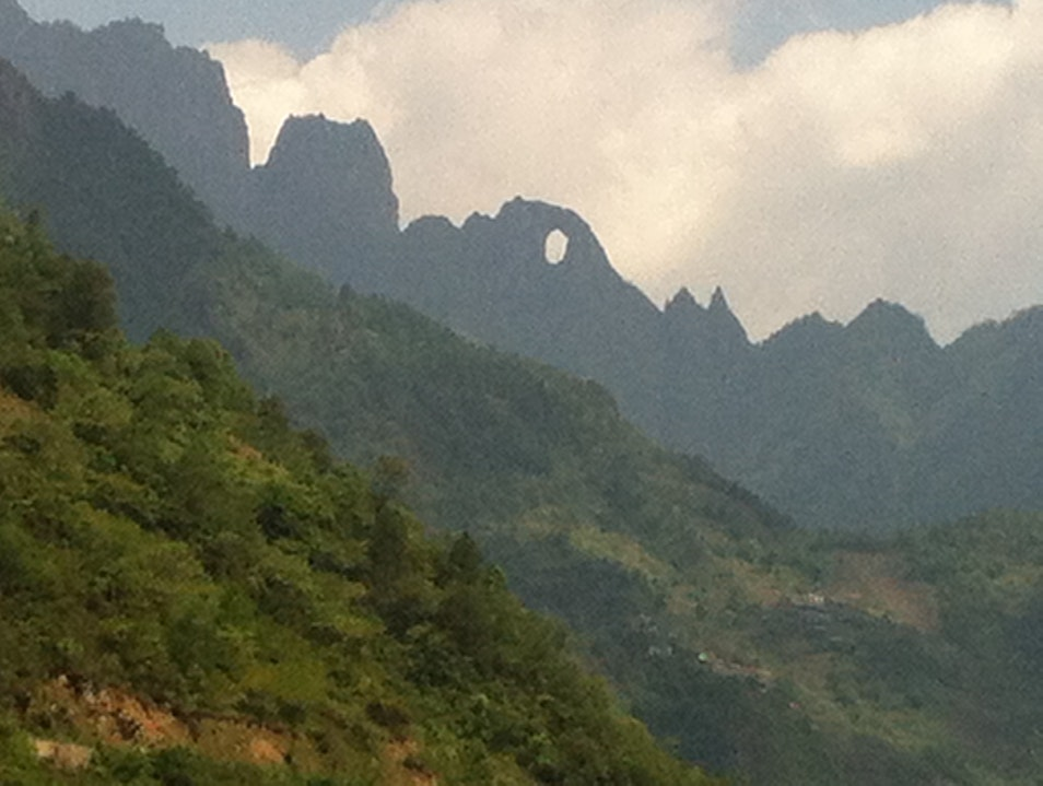 Stone Moon in Gaoligong Shan Nujiang  China