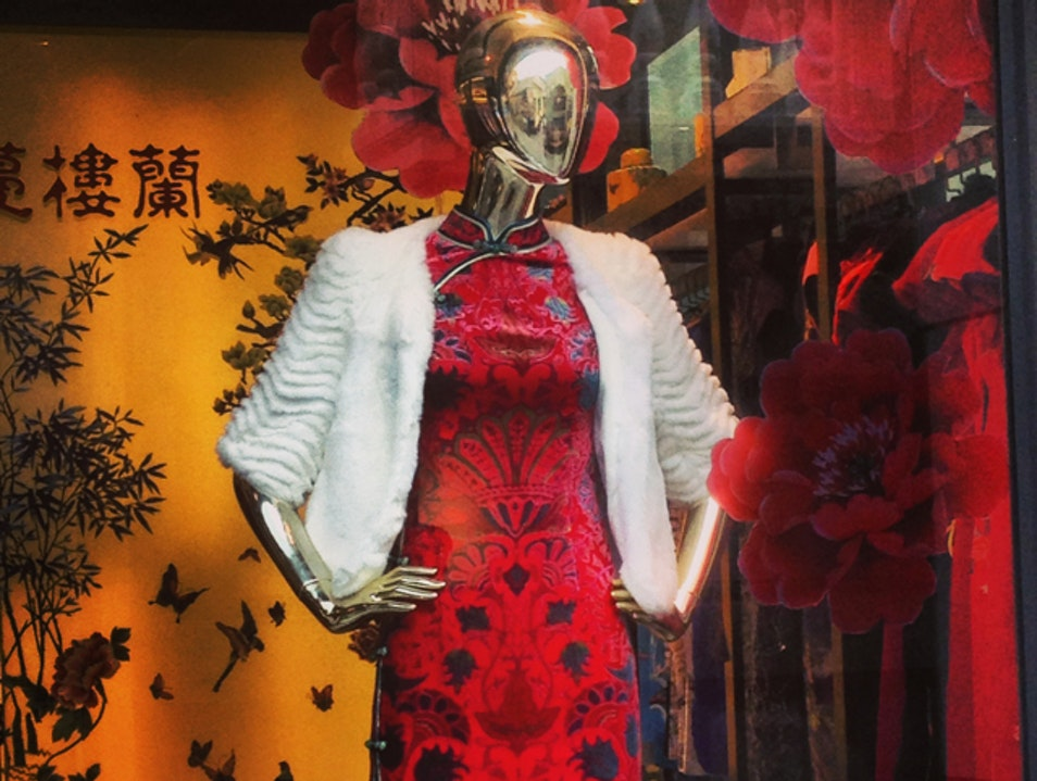 The Iconic Chinese Dress